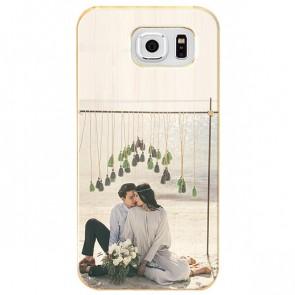 Samsung Galaxy S7 - Coque Personnalisée en Bois de Bambou