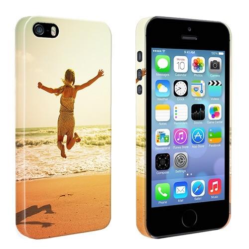 003716a203c iPhone 5, 5S & SE - Carcasa Personalizada Rígida con Bordes Impresos