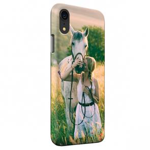iPhone Xr - Carcasa Personalizada Rígida con Bordes Impresos