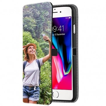 iPhone 8 - Carcasa Personalizada Billetera (Impresión Frontal)