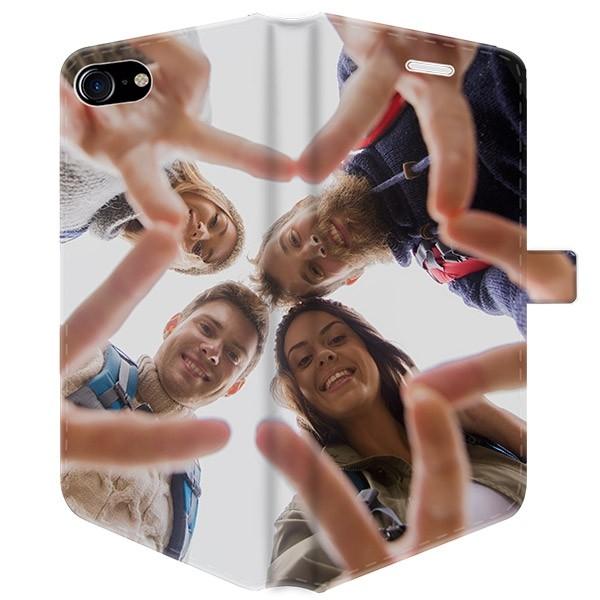f40db44c178 Funda billetera personalizada para iPhone 8 con impresión completa