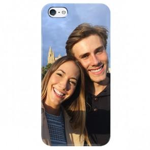 iPhone 5, 5S & SE - Carcasa Personalizada Rígida con Bordes Impresos