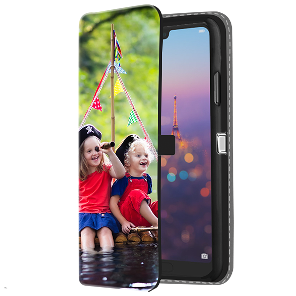 Huawei P20 Pro - Personalised Wallet Case (Front Printed)