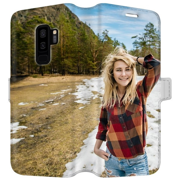 outlet store 2804d 43428 Samsung Galaxy S9 PLUS - Personalised Wallet Case (Full Printed)