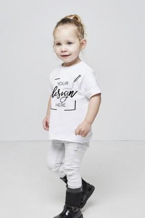 Kinder & Baby - Rundhalsausschnitt - T-Shirt selbst gestalten