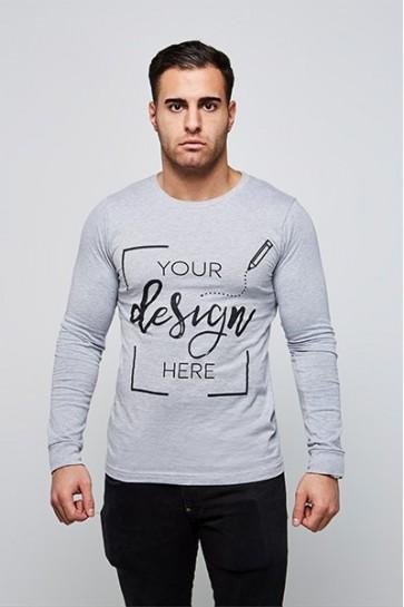 Heren - Lange Mouwen - T-shirt Ontwerpen