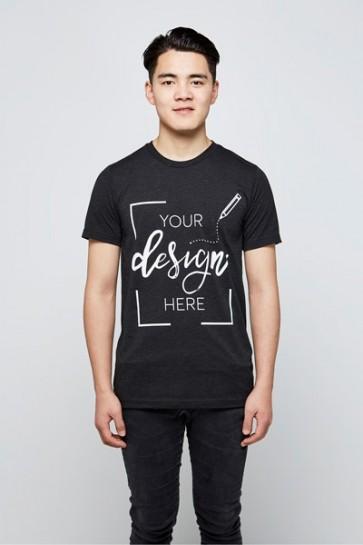 Heren - Ronde Hals - Premium T-shirt Ontwerpen