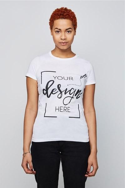 7e53f641706 Femme - T-shirt classique - Col rond
