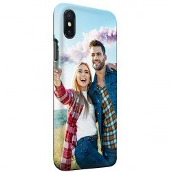 iPhone Xs - Personaliseret Fuld Print Hard Cover