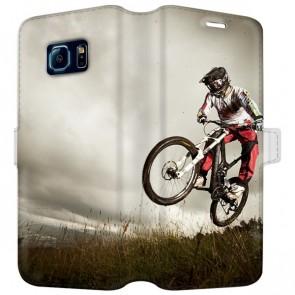 Samsung Galaxy S6 - Personligt Tegnebog Cover (Fuldt Tryk)