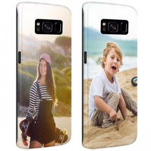 Samsung Galaxy S8 - Personaliseret Full Wrap Hårdt Cover