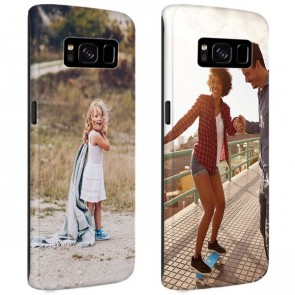 Samsung Galaxy S8 PLUS - Personaliseret Full Wrap Hårdt Cover