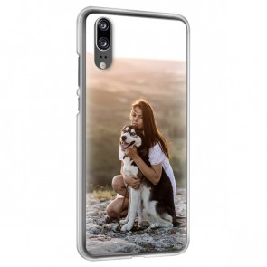 Huawei P20 - Personligt Hårdt Cover