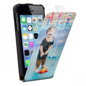 iPhone 5, 5S & SE - Personligt Flip Cover