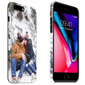 iPhone 8 PLUS - Personaliseret Fuld Print Tough Cover