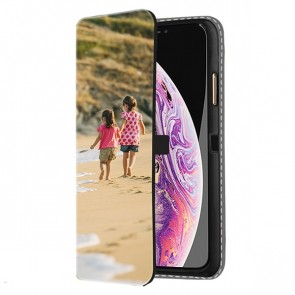 iPhone Xs Max - Personaliseret Tegnebogs Cover (Front Print)