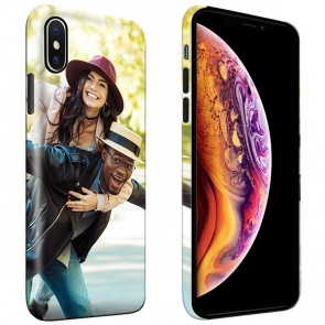 iPhone Xs - Personaliseret Fuld Print Tough Cover