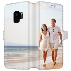 Samsung Galaxy S9 - Personaliseret Tegnebogs Cover (Fuld Print)