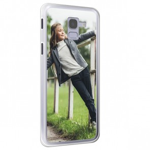Samsung Galaxy J6 - Personaliseret Silikone Cover