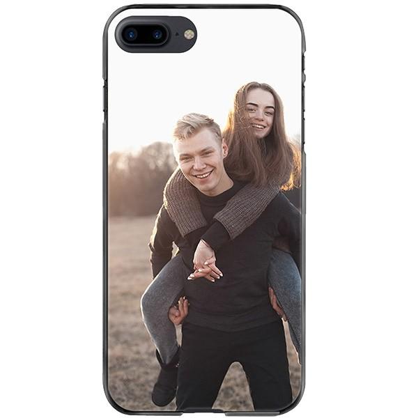 newest 95aa9 33201 iPhone 8 PLUS - Custom Silicone Case - Black, White or Transparent