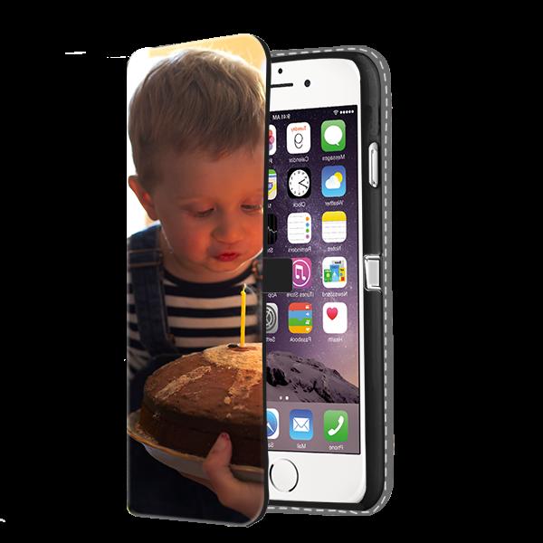 iPhone 7 PLUS & 7S PLUS - Custom Wallet Case (Front Printed)