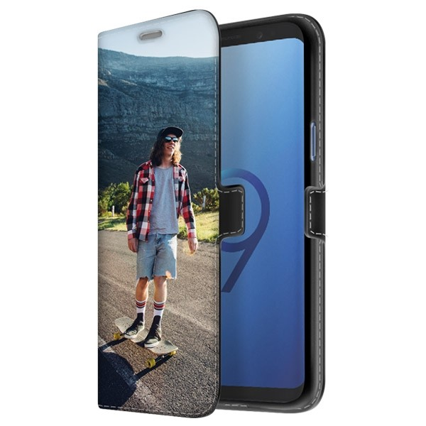 the latest 52fd1 acce6 Samsung Galaxy S9 - Custom Wallet Case (Front Printed)