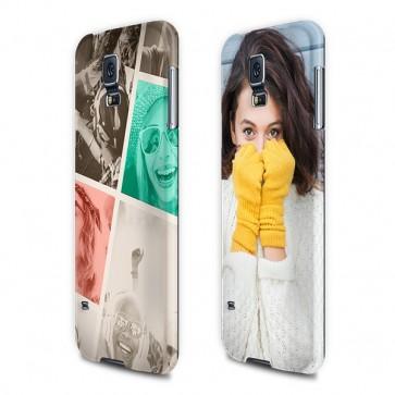 Samsung Galaxy S5 - Rondom Bedrukt Hardcase Hoesje Maken