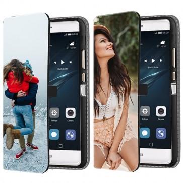 Huawei P9 - Portemonnee Hoesje Maken (Voorzijde Bedrukt)