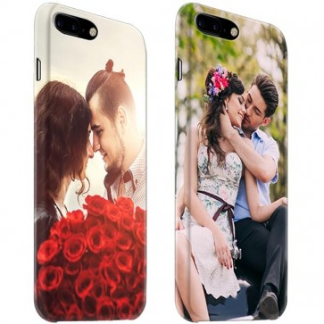 iPhone 7 PLUS & 7S PLUS - Rondom Bedrukt Hardcase Hoesje Maken