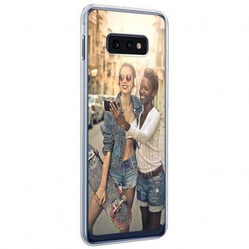 Samsung Galaxy S10 E - Softcase Hoesje Maken