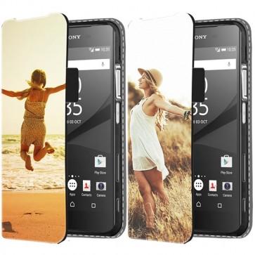 Sony Xperia Z5 Compact - Portemonnee Hoesje Maken (Voorzijde Bedrukt)