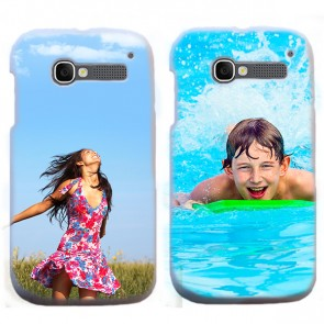 Alcatel One Touch Pop C5 - Hardcase hoesje ontwerpen - Wit