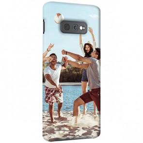 Samsung Galaxy S10 E - Rondom Bedrukt Hardcase Hoesje Maken