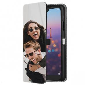 Huawei P20 - Portemonnee Hoesje Maken (Voorzijde Bedrukt)