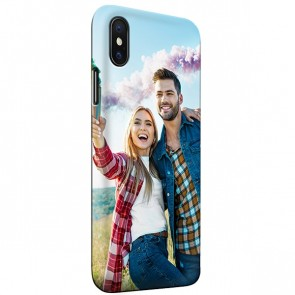 iPhone Xs - Rondom Bedrukt Hardcase Hoesje Maken