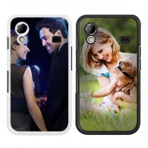 Samsung Galaxy Ace S5830 - Hardcase hoesje ontwerpen - Zwart of wit