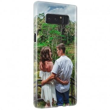 Samsung Galaxy Note 8 - Carcasa Personalizada Rígida con Bordes Impresos