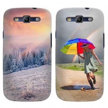 Samsung Galaxy S3 - Carcasa Personalizada Rígida con Bordes Impresos