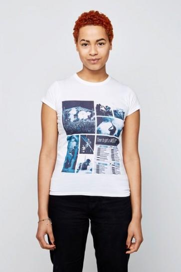 Mujer - Cuello redondo - Camiseta premium personalizada