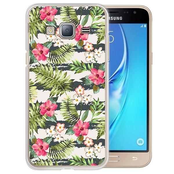 2f4bd55e97c Carcasa Personalizada Blanda Samsung Galaxy J3 (2016) - Transparente