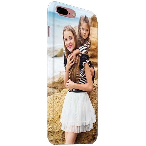 9787a438e61 iPhone 8 PLUS - Funda Personalizada Rígida Con Bordes Impresos