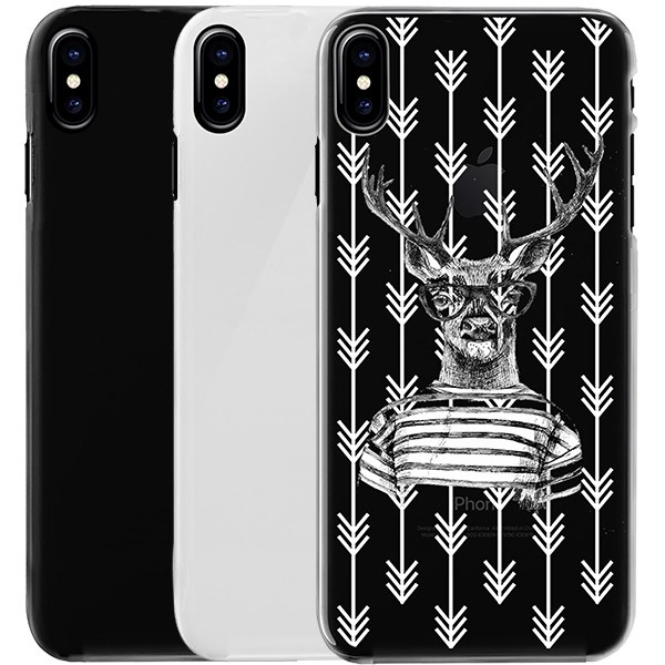 b5952fced05 iPhone X - Funda personalizada blanda - Negra, blanca o transparente