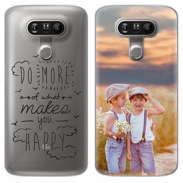4b85f426b2f LG G5 - Carcasa Personalizada | Rígida | TU FOTO en Fondo Transparente