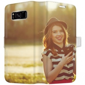 Samsung Galaxy S8 PLUS - Carcasa Personalizada Billetera (Completamente impresa)