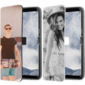 Samsung Galaxy S8 - Carcasa Personalizada Billetera (Impresión Frontal)