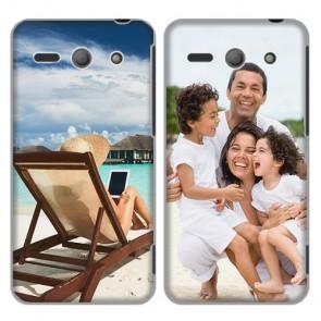 Huawei Ascend Y530 - Funda personalizada rígida - Blanca