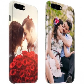 iPhone 7 PLUS & 7S PLUS - Carcasa Personalizada Rígida con Bordes Impresos