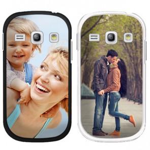 Samsung Galaxy Core - Funda personalizada rígida - Blanca