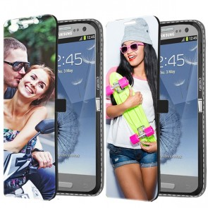 Samsung Galaxy S3 - Carcasa Personalizada Billetera (Impresión Frontal)