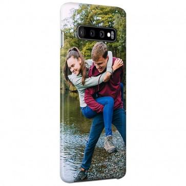 Samsung Galaxy S10 Plus - Coque Rigide Personnalisée à Bords Imprimés